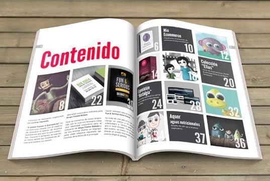 como hacer un catalogo original tipo revista