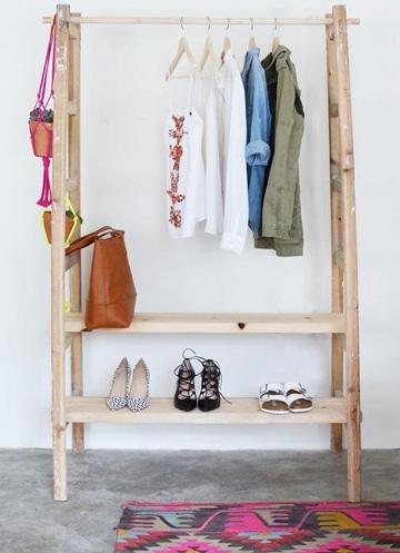 como hacer un closet reciclado super economico