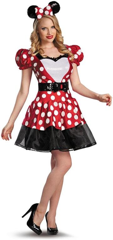 como hacer un disfraz de minnie para adulto