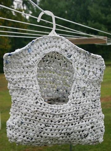 como reciclar bolsas de plastico en casa