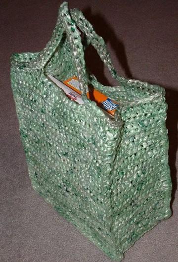 como reciclar bolsas de plastico para cartera