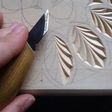 dibujos para tallado en madera de hojas