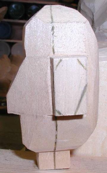 dibujos para tallado en madera de rostro