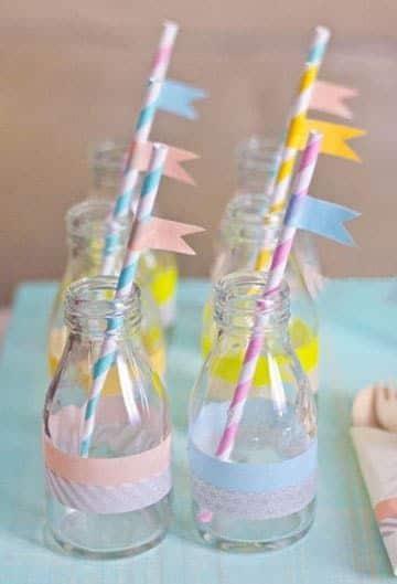 frascos decorados para cumpleaños juveniles