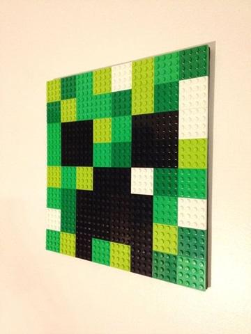 imagenes de lego minecraft cuadro decorativo