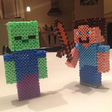 imagenes de lego minecraft personajes