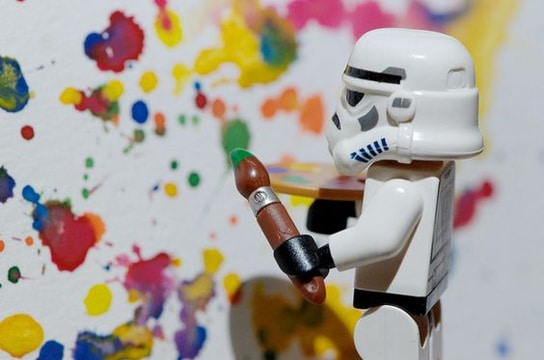 imagenes de lego star wars artista