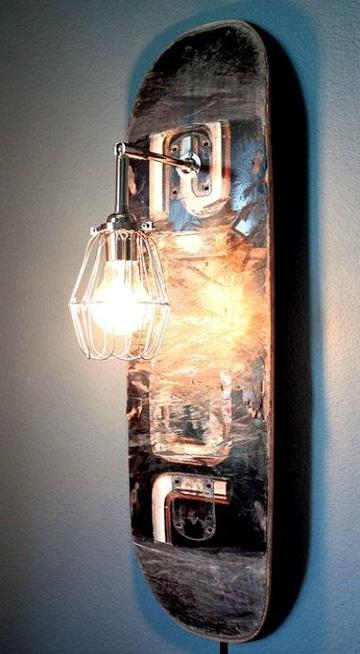lamparas con material reciclable creativa
