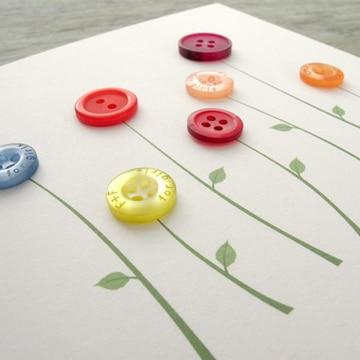 regalos sencillos para el dia de la madre con botones