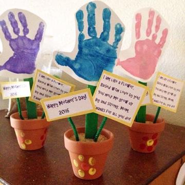 regalos sencillos para el dia de la madre infantiles