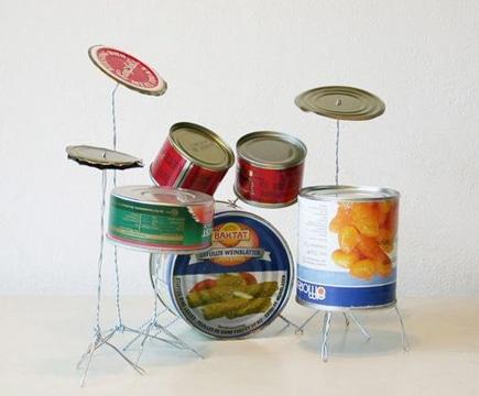 artesanias con material reciclable de latas