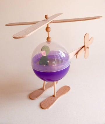 artesanias con material reciclable para niños