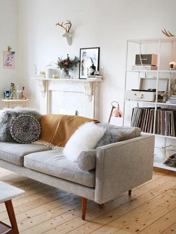 cojines modernos para sofas chic