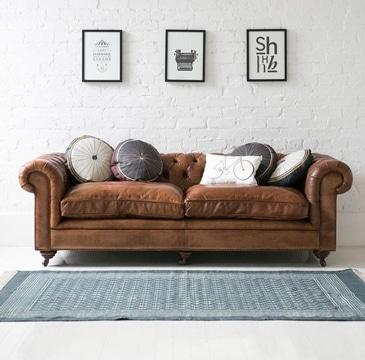 cojines modernos para sofas de cuero