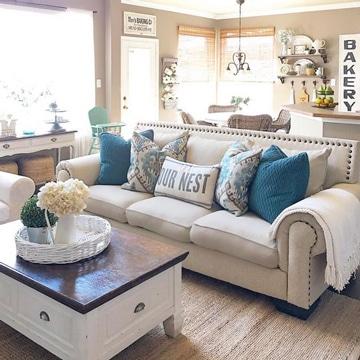 Decora tu sala con estos cojines modernos para sofas - Hacer cojines sofa ...