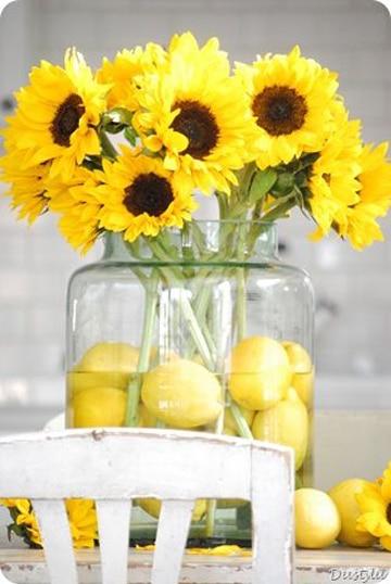 como decorar con frutas y flores