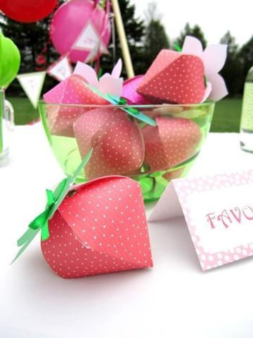 como hacer frutas de papel decorativas