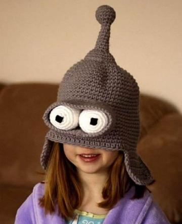 como hacer gorros para niños al crochet
