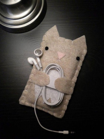 como hacer una carcasa para celular de tela