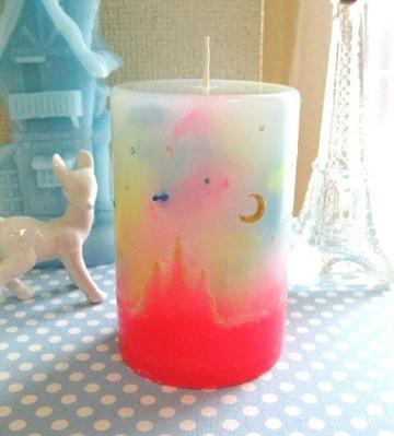 como hacer velas de parafina decorativas