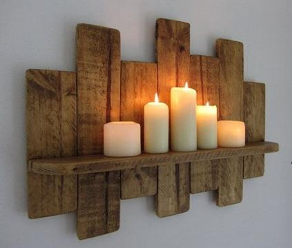 cosas con palets de madera para decorar