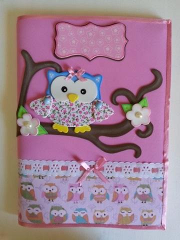 ideas para decorar una carpeta de niña