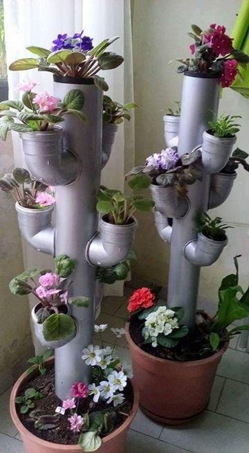macetas hechas de reciclaje ideas