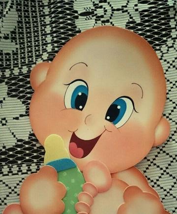 moldes de bebes en goma eva tiernos