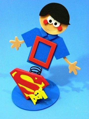 portaretratos para el dia del padre de superheroe