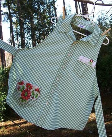 reciclar camisas de hombre viejas para casa