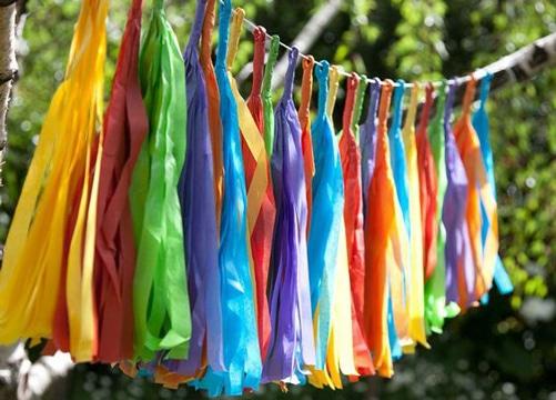 Recrea estos adornos colgantes para fiestas patronales - Fiesta cumpleanos infantil en casa ...