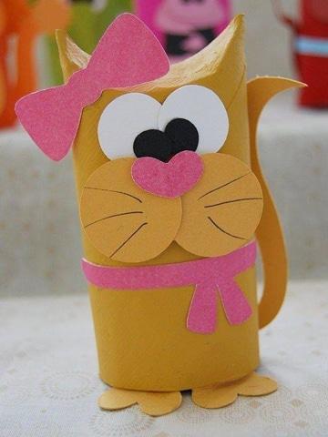 animales con tubos de papel higienico caseros