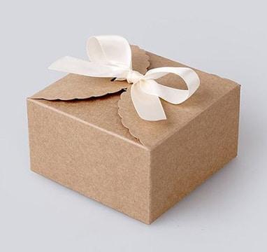 cajas de carton decoradas para regalos super sencillas
