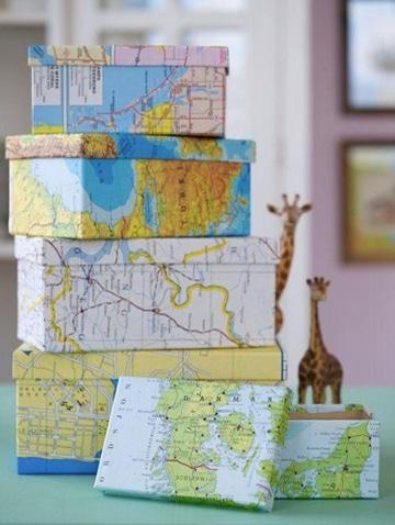 cajas de carton decoradas para regalos tematicos