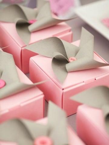 cajitas de regalo para armar delicadas