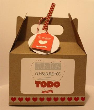 cajitas de regalo para armar enamorados