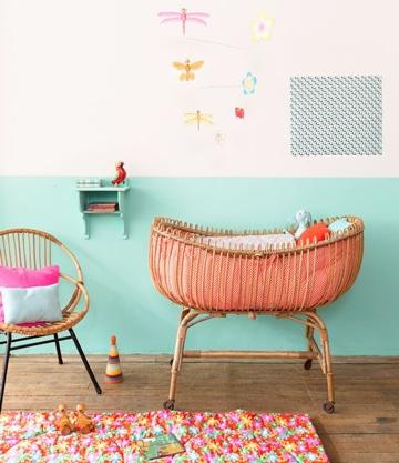 Te mostramos como decorar una cuna de manera artesanal for Como decorar una cuna
