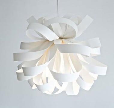 como hacer lamparas de papel colgantes y creativas