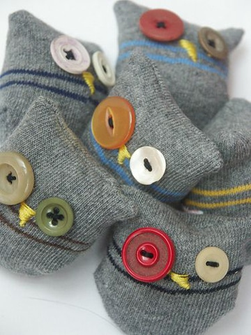 como hacer muñecos con medias para niños