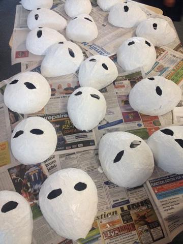 Hoy aprender s como hacer una mascara con globo - Como hacer una mascara ...