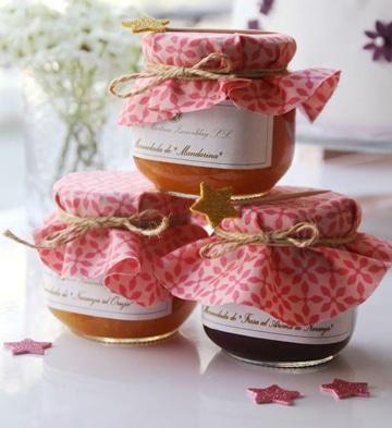 decoracion de frascos de compota para mermelada