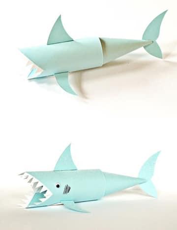 figuras con rollos de papel de animalitos