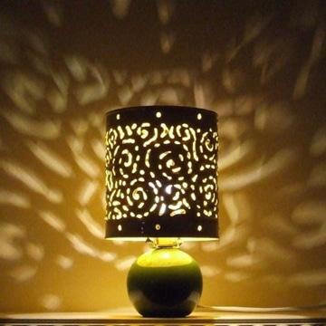 imagenes de lamparas recicladas con lata
