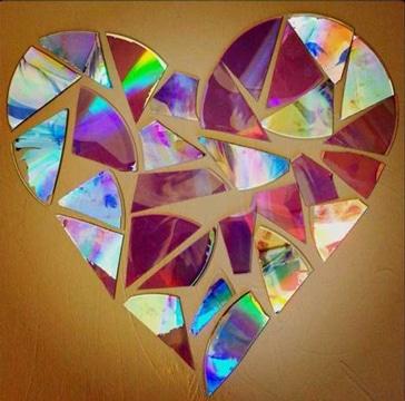 imagenes de manualidades con cd reciclados