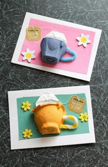 manualidades con cubetas de huevo escolares