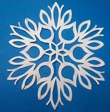 manualidades con hojas blancas para decorar