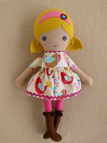 modelos de muñecas de trapo super tiernas