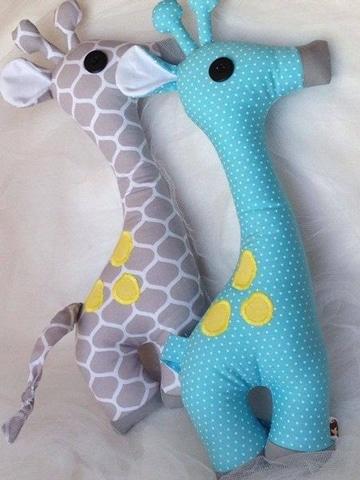 muñecos de tela para bebes de animalitos