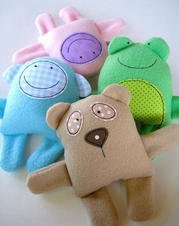 muñecos de tela para bebes decorativos