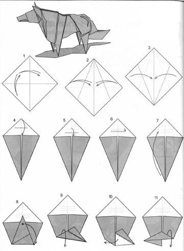 pasos para hacer un origami tutorial
